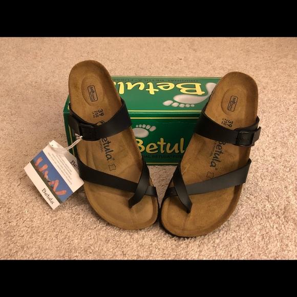 e633963de126a Birkenstock Shoes | Womens Betula By Mia Black Sandals | Poshmark